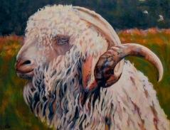 """#187, Carlos, 18""""x22"""", Oil on canvas"""