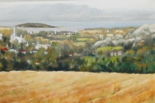 """#306, Kamouraska XIV, 12""""x16"""", Oil on Canvas, $375.00"""